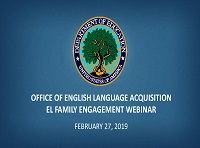 Family Engagement webinar notice
